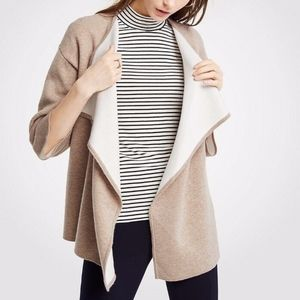 NWT Ann Taylor Cascade Open Cardigan Sweater XL